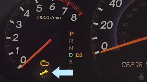 honda crv wrench light what does the yellow wrench mean youtube