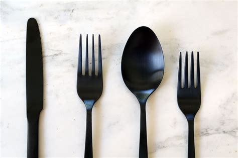 modern silverware beyond the silver spoon flatware trends for the modern table