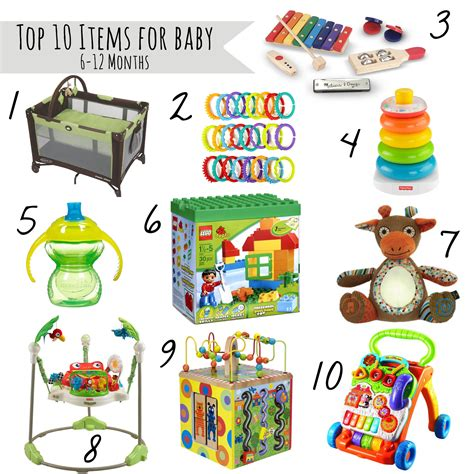 baby toys 12 months top 10 must haves for babies 6 12 month our