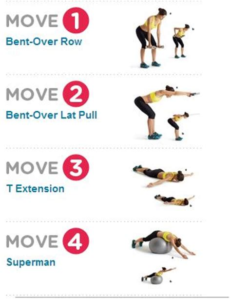 25 best ideas about back workouts for on