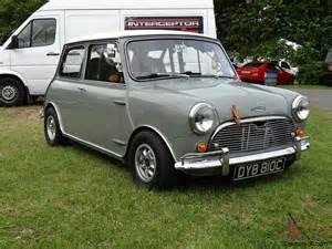 Mini Cooper S Mk1 1965 Mk1 Mini Cooper S Grey White
