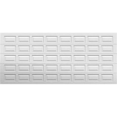 Home Depot Garage Door Panels by Select Collection Gateway 16 Ft X 7 Ft Panel White