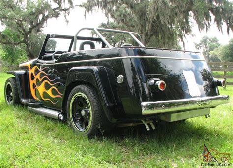 custom willys jeepster 1948 custom willys overland jeepster rod