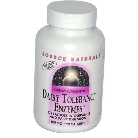 Mg Cheese source naturals dairy tolerance enzymes 500 mg 90 capsules iherb