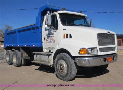 louisville truck 1997 ford louisville dump truck item f6587 sold