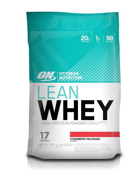 L Hi Protein Whey Lean Whey High Protein Low Carb Optimum Nutrition Ireland