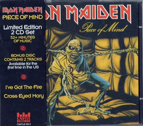 Cd Iron Maiden The Book Of Soul 2cd Original iron maiden of mind cd album at discogs