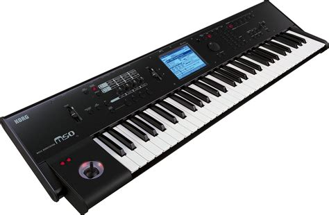 Keyboard Korg Keluaran Terbaru korg m50 61 key workstation