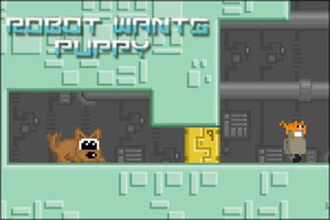 robot wants puppy arcade walkthrough comments and more free web at freegamesnews