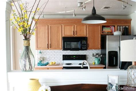 Ideas To Update Kitchen Cabinets Ideas To Update Oak Kitchen Cabinets Kitchen Makeover Pinterest
