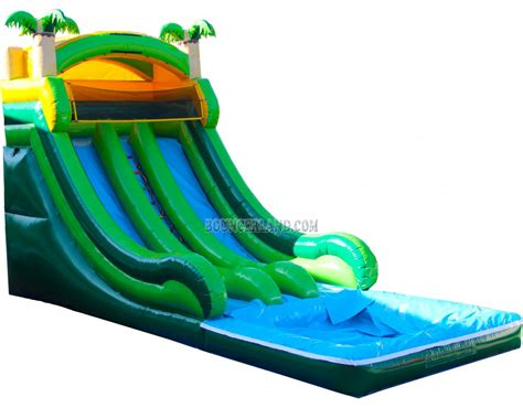 blow up bounce house bouncerland commercial inflatable water slide 2090
