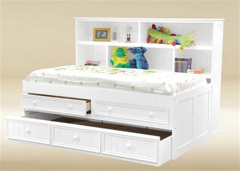 bed with bookshelf trundle bed with bookcase headboard foter