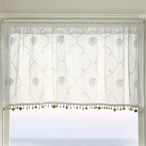 curtains with lace trim heritage lace beach heritage lace trellis valance with