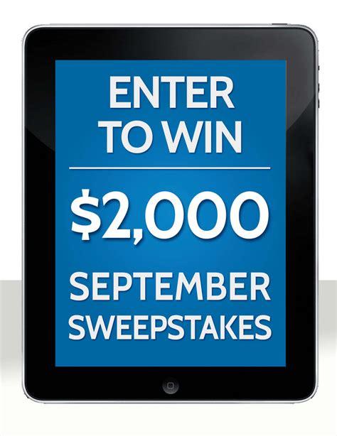 September Sweepstakes - 1 2 3 promote revresponse partner challenge starts now revresponse