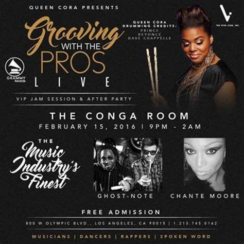 conga room guest list grammy awards jam session after tickets conga room los angeles ca february 15 2016