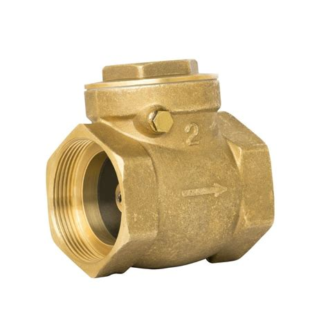 swing valve brass swing check valve