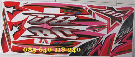 Stiker Striping Honda Beat Fi Angry Bird Merah Spec A honda vario cw 08 striping motor variasi dan original