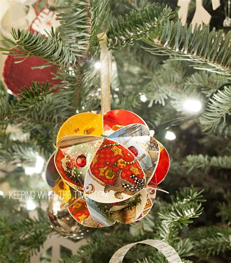 handmade christmas globe ornaments keeping with the times