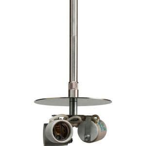 pendant light kit home depot metal brushed nickel 3 light pendant stem kit