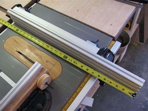 dewalt table saw fence diy table saw fence accessory for the dewalt dw745