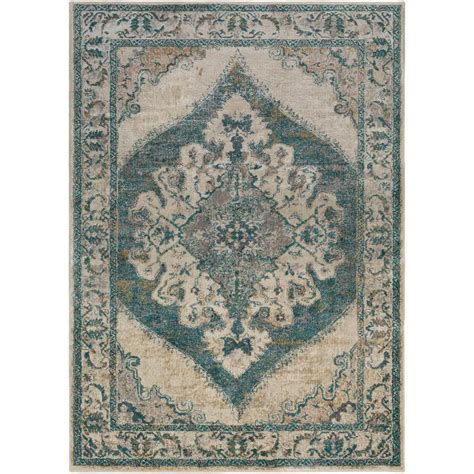 marrakesh rugs surya marrakesh teal 6 ft 7 in x 9 ft 6 in indoor area rug mrh2305 6796 the home depot