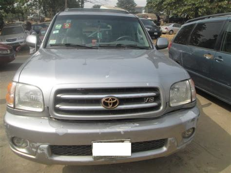 toyota payment account neatly used toyota sequoia 02 autos nigeria