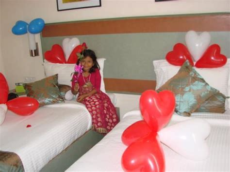 Decorate Guest Room by Birthday Decoration In Our Room Picture Of Leonia Holistic Destination Hyderabad Tripadvisor