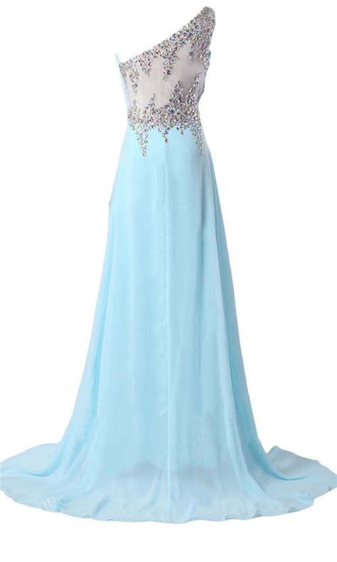 light blue sequin dress light blue one should zigzag sequin formal dresses