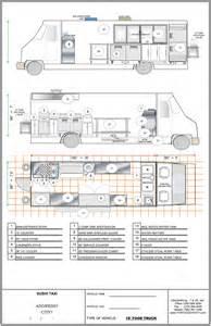 truck cer floor plans ft plan food trucks for sale used food trucks