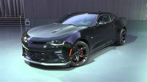 black camaro 1le 2017 chevy camaro 1le ss v8 black walk around and