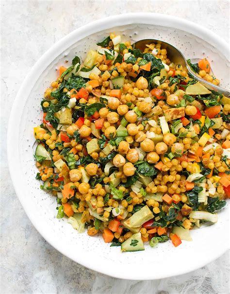 couscous salad fall israeli couscous salad soupaddict
