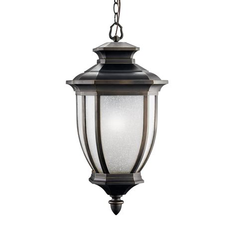 24 Pendant Light Shop Kichler Lighting Salisbury 24 75 In Rubbed Bronze Outdoor Pendant Light At Lowes