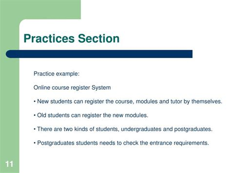practice section ppt uml together 2006 tutorial powerpoint presentation