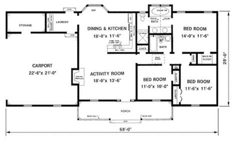 1500 Sq Ft House Plans 1300 Square Feet Floor Plan Http House Plans Below 1300 Square