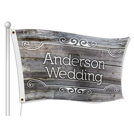 Wedding Banners And Flags by Wedding Flags Personalized Wedding Flags Banners