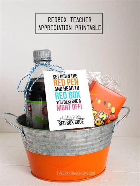 Redbox Gift Card Cvs - 10 easy printable teacher gift ideas faithful provisions