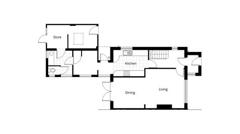 ground floor extension plans single storey rear extension planning application drawings project ben williams home design