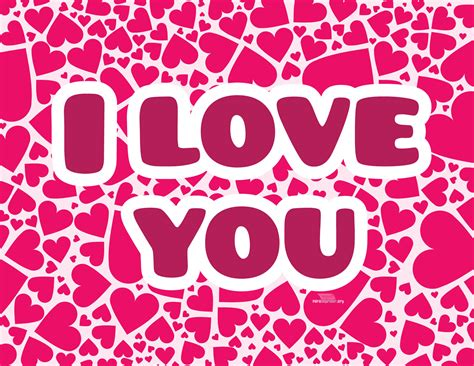 imagenes de i love you my love corazones rosas con i love you para imprimir