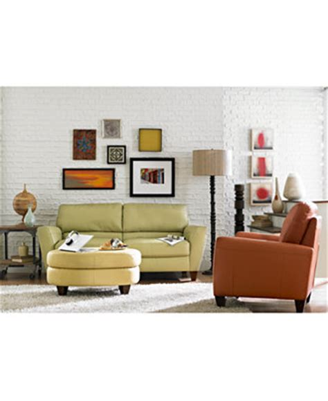 Macys Furniture Boca by Almafi Leather Sofa Living Room Furniture Collection