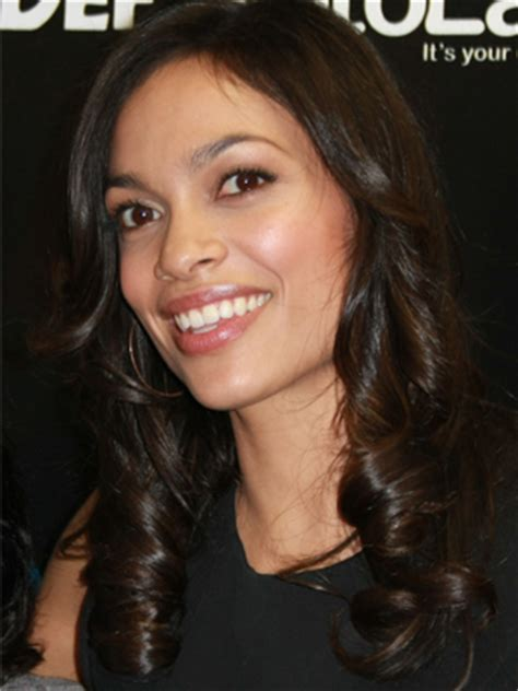 rosario dawson square face find the best hairstyle for your face 29secrets