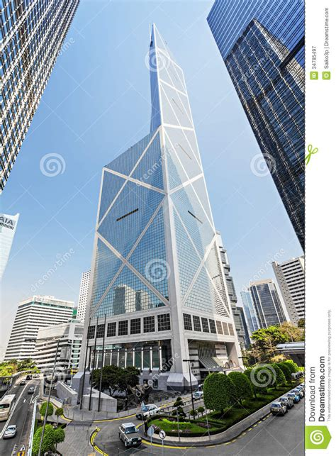 bank of china hong kong price bank of china editorial photography image of high