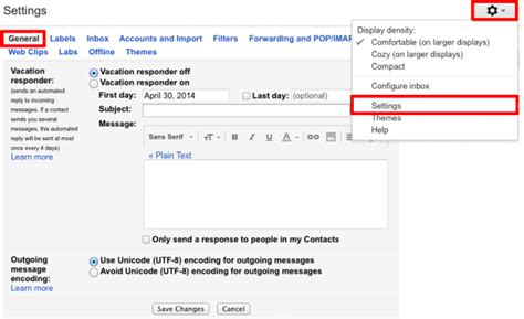 Out Of Office Gmail by How To Enable Out Of Office Autoreply Email In Web Gmail