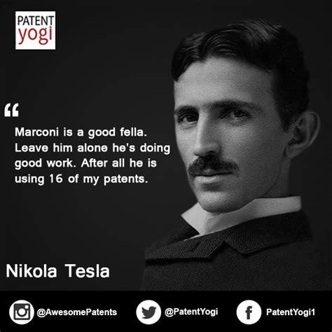 Tesla Vs Marconi Patent Quote Tesla Vs Marconi Patentyogi