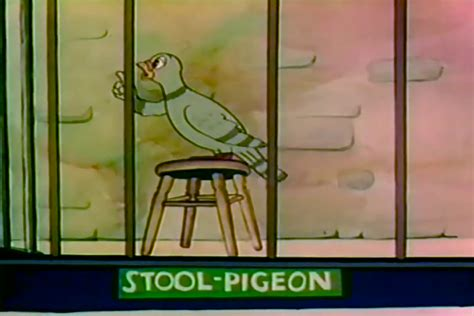 The Stool Pigeon by Supervised By Fred Avery Tex Avery S Warner Brothers