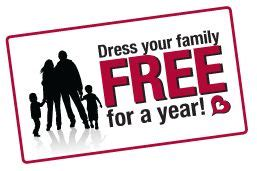 Burlington Coat Factory Sweepstakes - burlington coat factory dress your family free for a year sweepstakes
