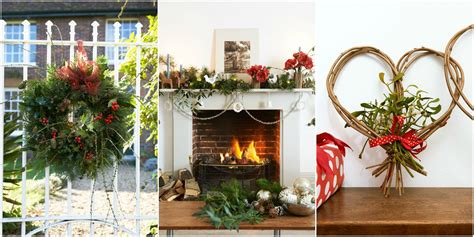 ways  decorate  home  greenery  christmas