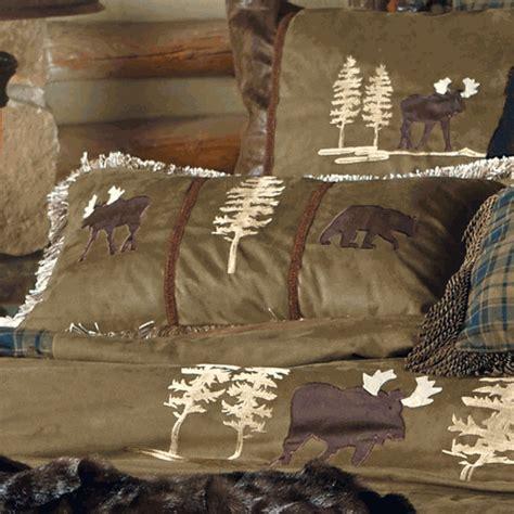 Cabin Pillows Clearance kodiak lodge moose accent pillow clearance