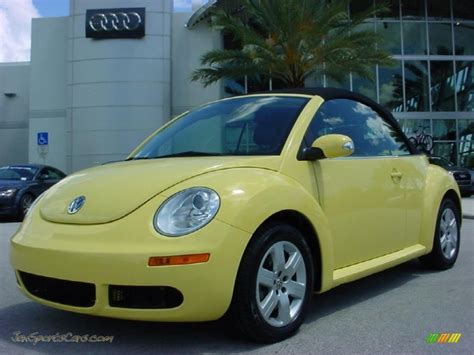 volkswagen bug yellow 2007 volkswagen beetle convertible 2007 volkswagen new