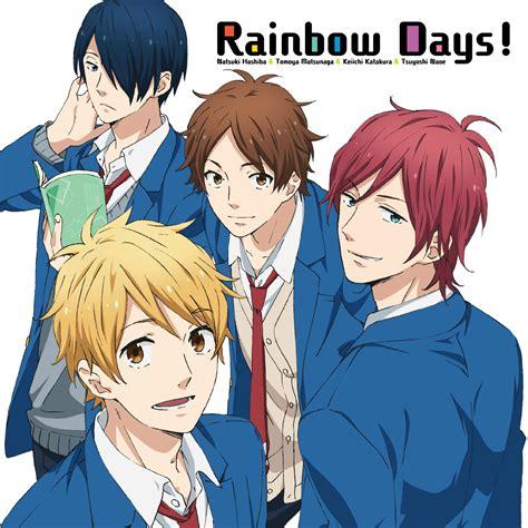 anime rainbow day nijiiro days rainbow days single achanime