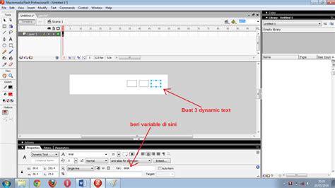cara membuat jam digital macromedia flash 8 toask cara membuat jam digital di macromedia flash